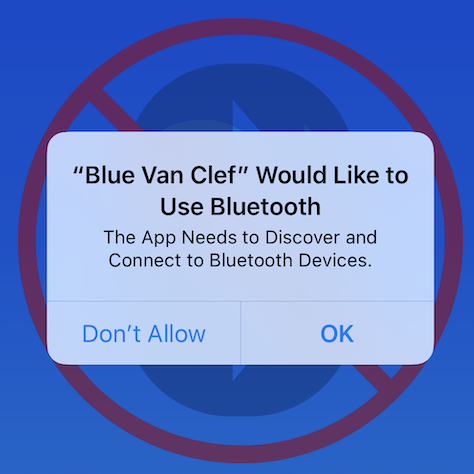 The Bluetooth Permission Request
